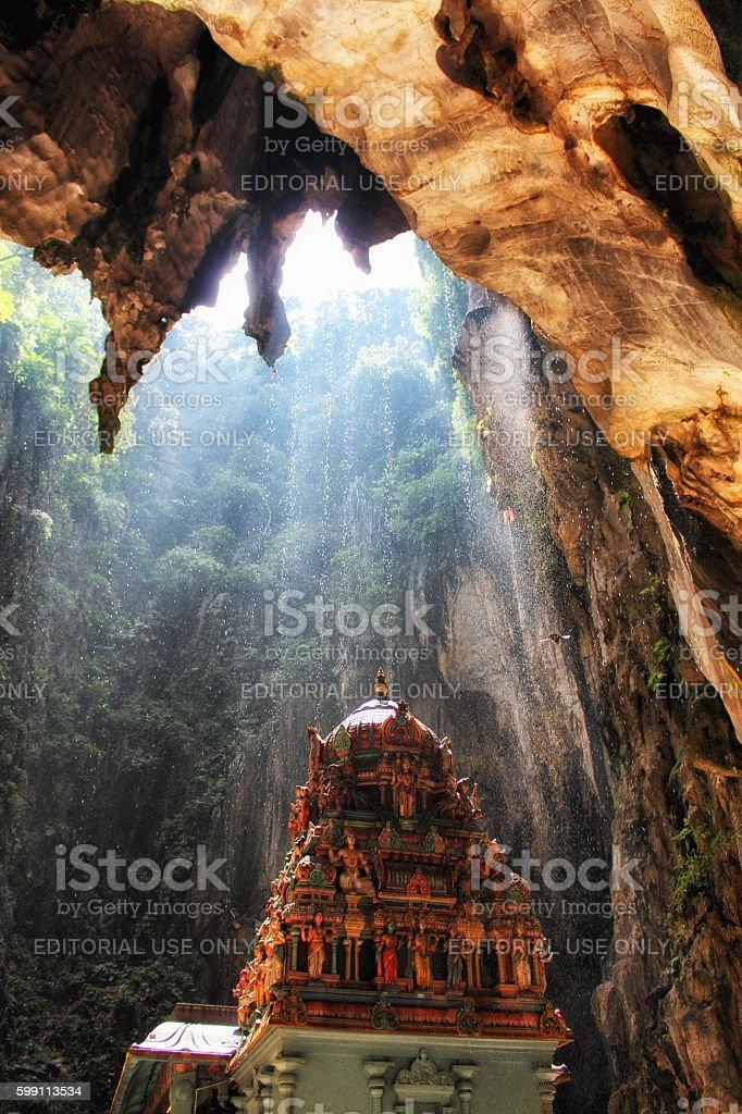 Batu Caves Hindu temple stock photo