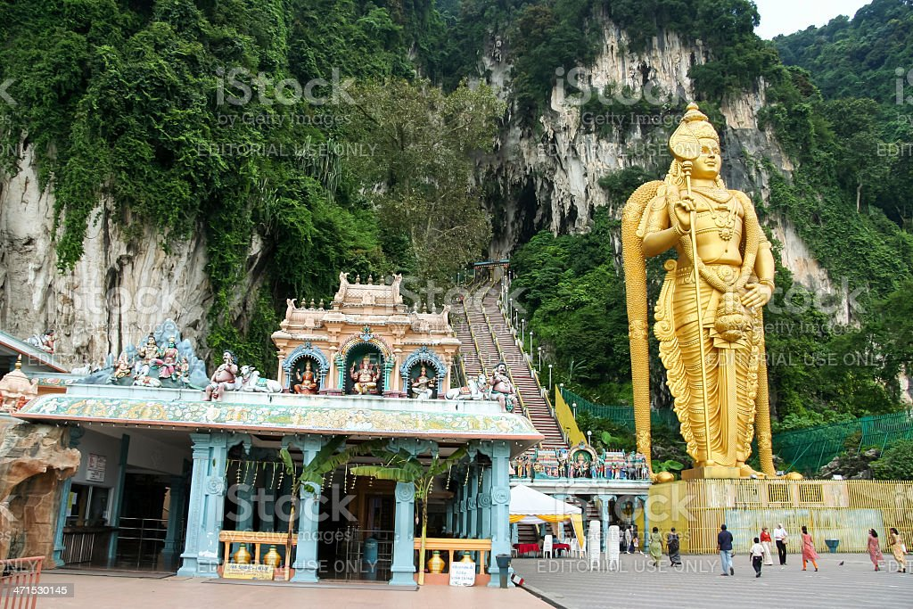 batu caves Kuala Lumpur malaysia royalty-free stock photo