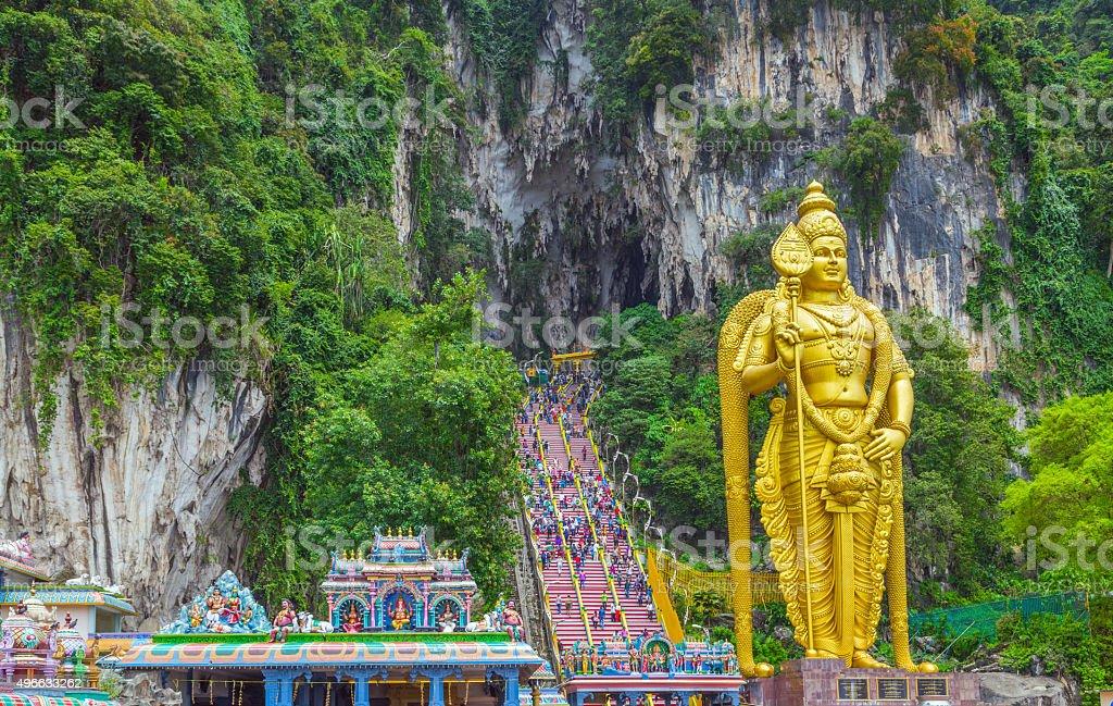 Batu Caves Lord Murugan in Kuala Lumpur, Malaysia. stock photo