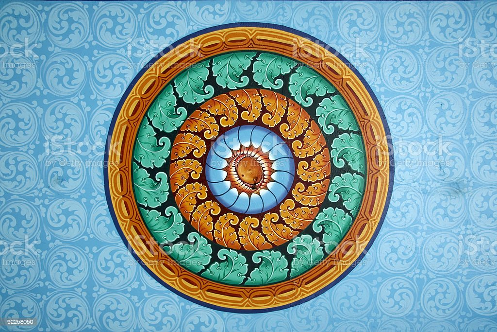 batu design swirling pattern background royalty-free stock photo