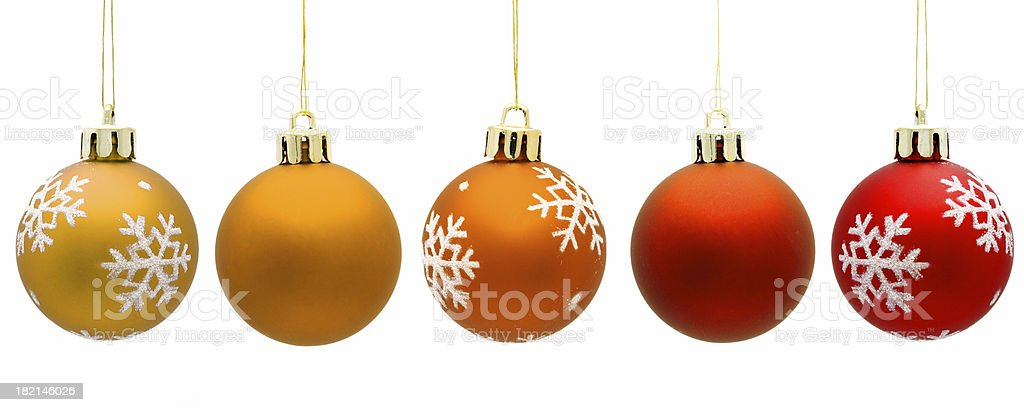 Bauble gradient royalty-free stock photo