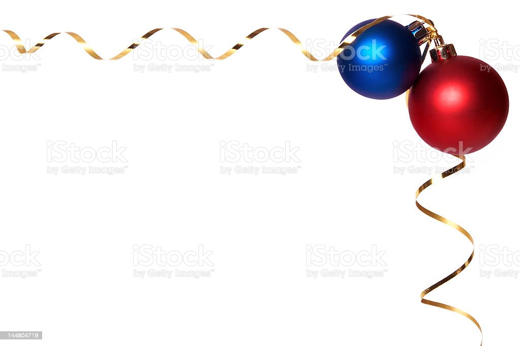 Baubles 2 royalty-free stock photo