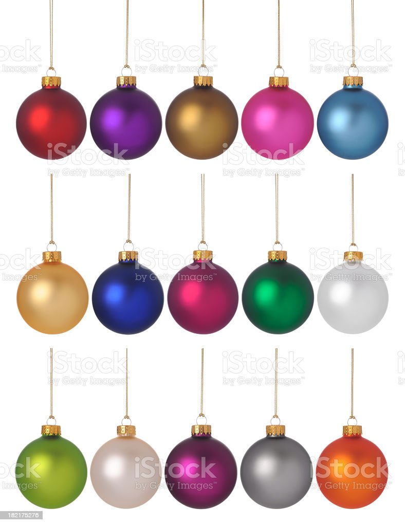 Baubles! royalty-free stock photo