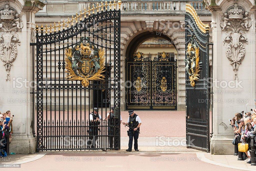 Bauckingham Palace stock photo