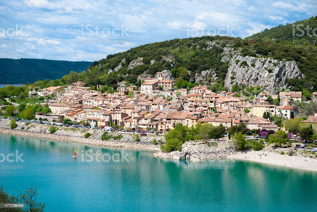 Bauden, Provence, France royalty-free stock photo