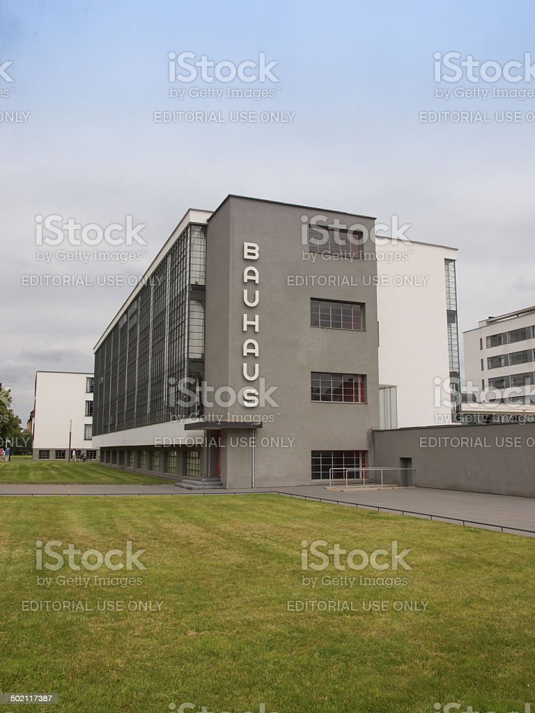 Bauhaus Dessau stock photo