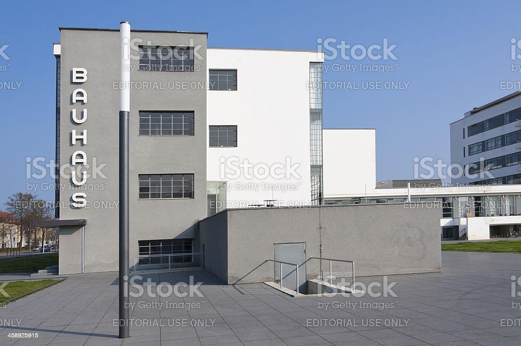 Bauhaus in Dessau (Germany) stock photo