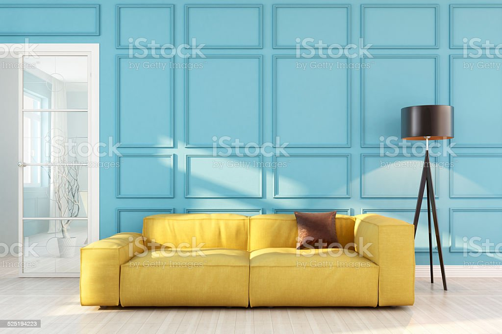 Bauhaus Interior stock photo