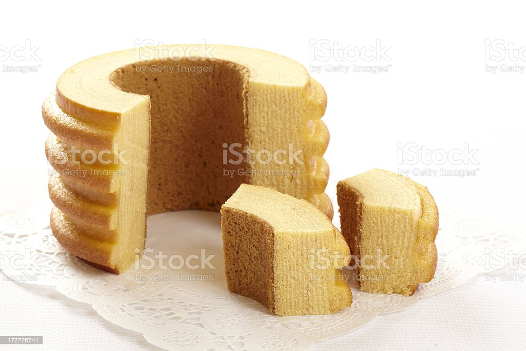 Baumkuchen Image stock photo