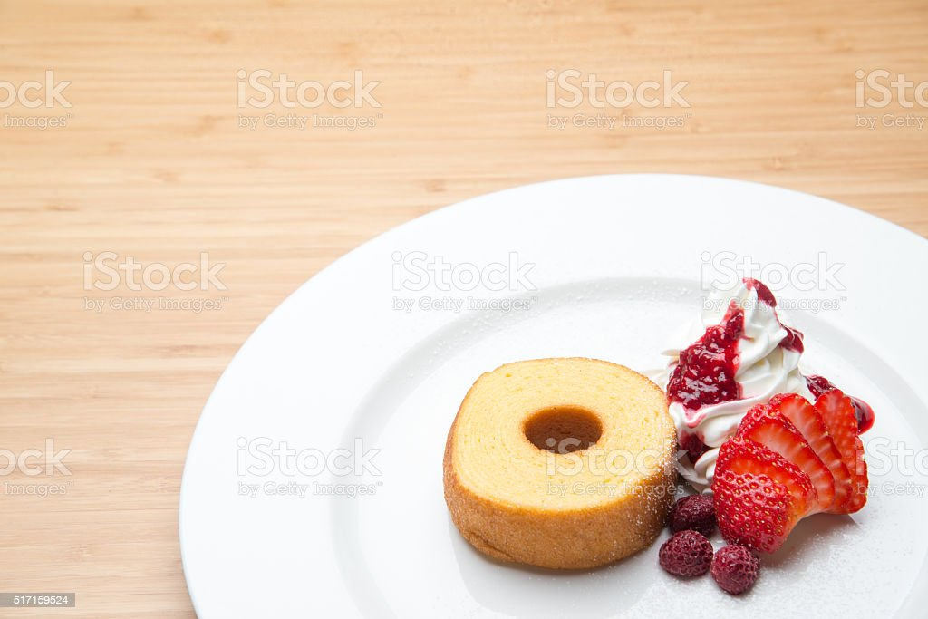 baumkuchen stock photo