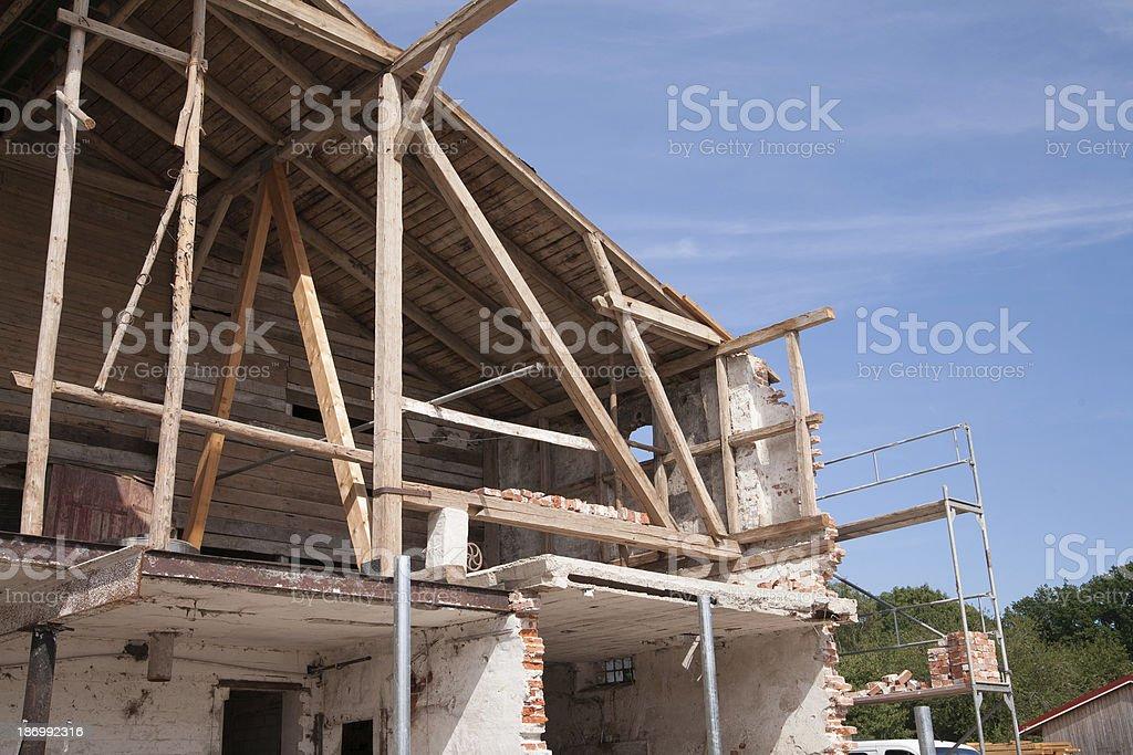 Baustelle stock photo