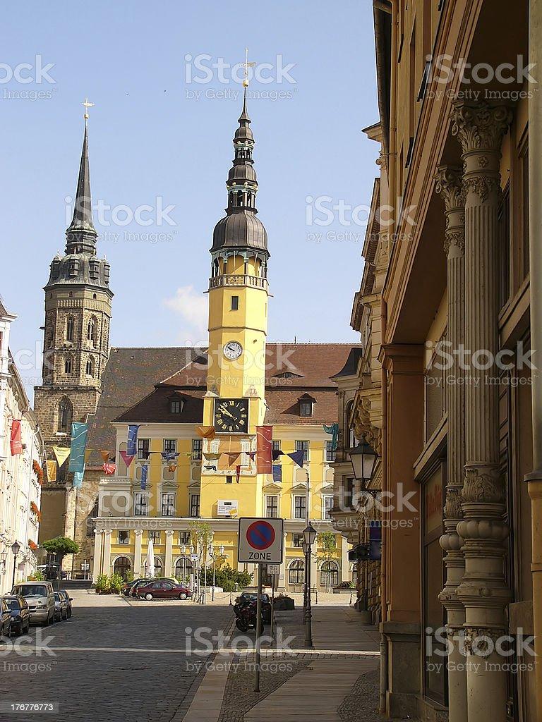 Bautzen stock photo
