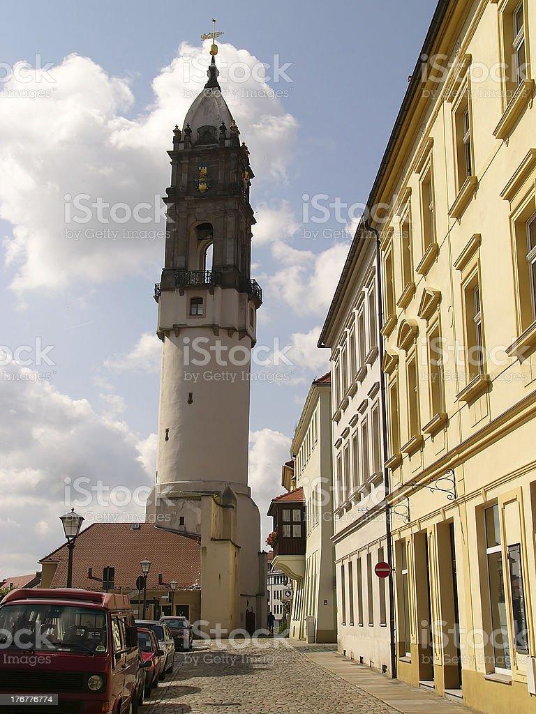 Bautzen Reichenturm royalty-free stock photo