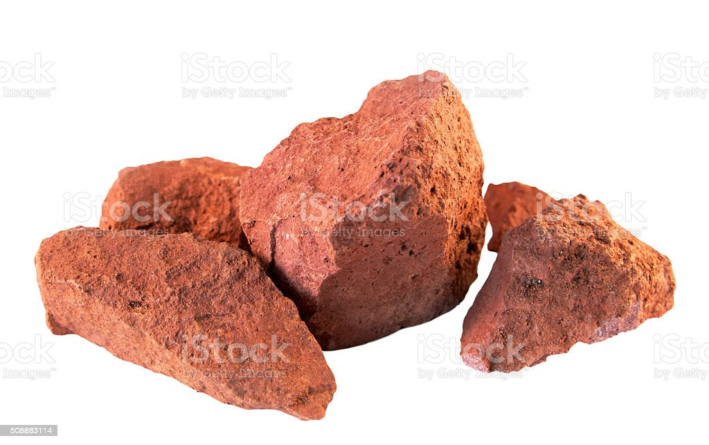 Bauxite stock photo