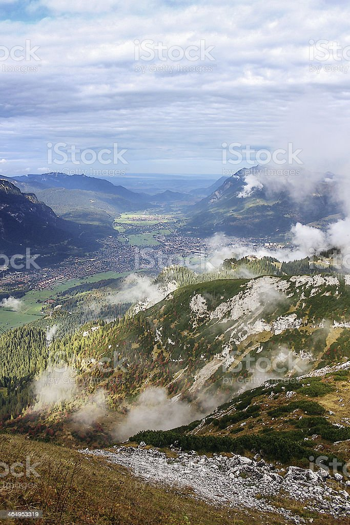 Bavarian Alps, Germany stock photo