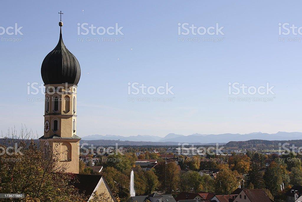 Bavarian Autumn stock photo
