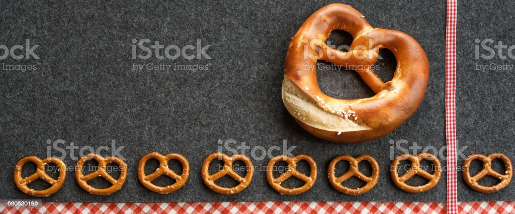 Bavarian background for Oktoberfest stock photo