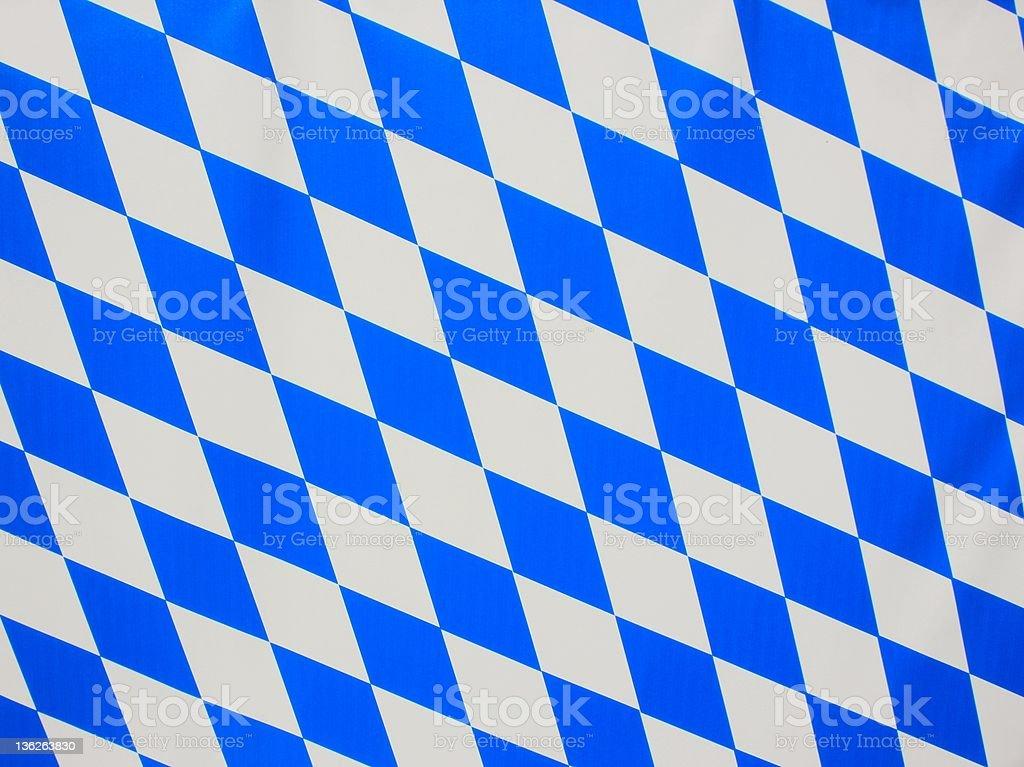 Bavarian blue and white rhombus as background stock photo