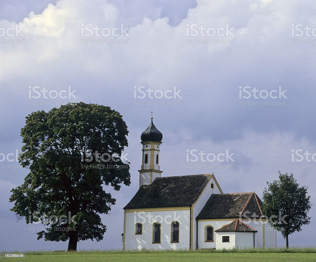 Bavarian Chapel stock photo