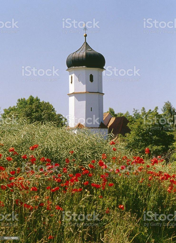 Bavarian Church royalty-free stock photo