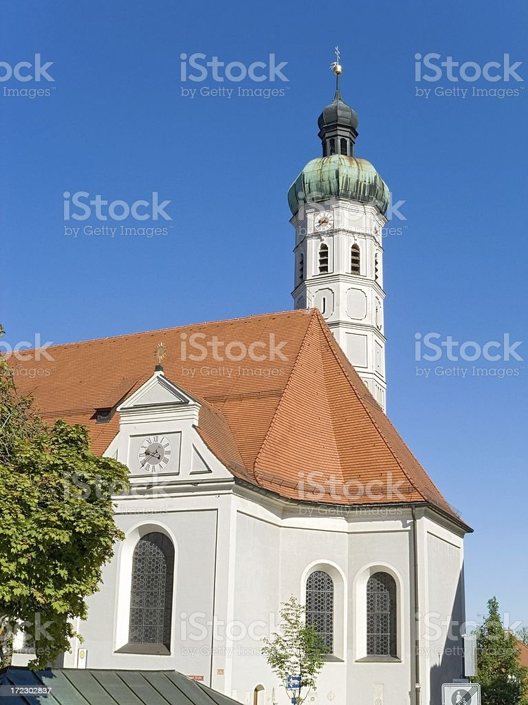 Bavarian Churches: St Jakob in Dachau royalty-free stock photo
