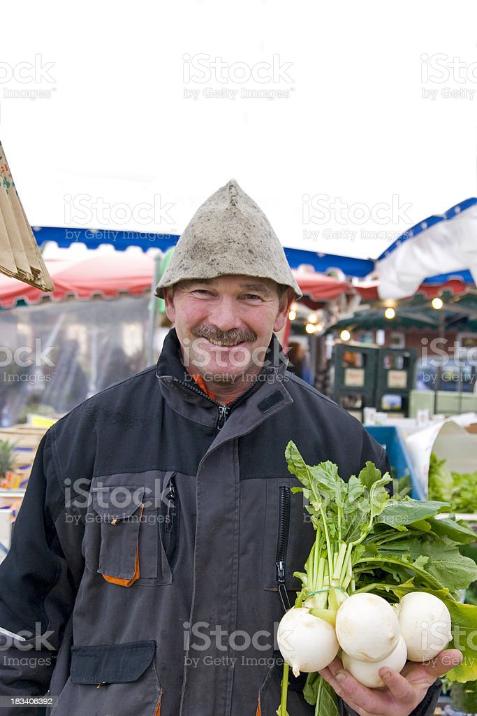 Bavarian Farmer royalty-free stock photo