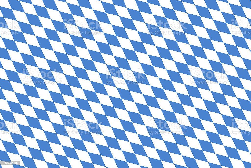 bavarian flag Oktoberfest stock photo