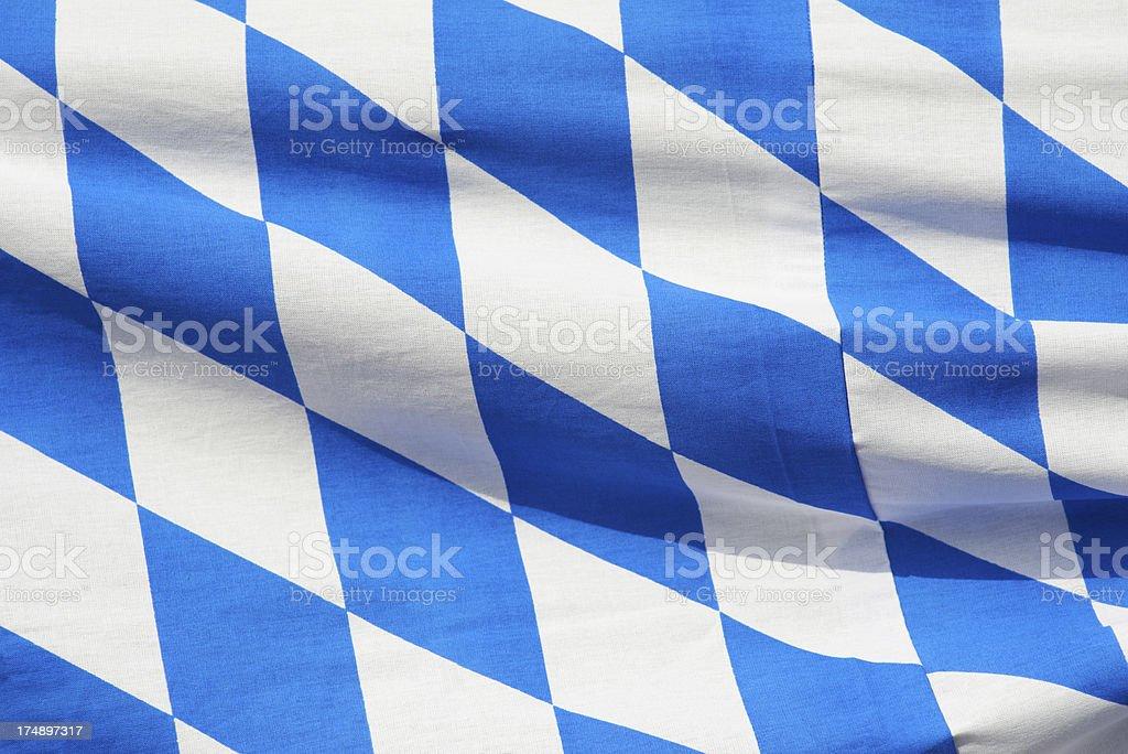 Bavarian Flag Pattern stock photo