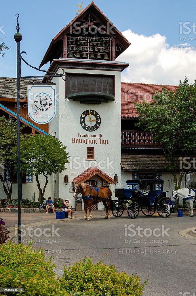 Bavarian Inn, Frankenmuth, Michigan stock photo