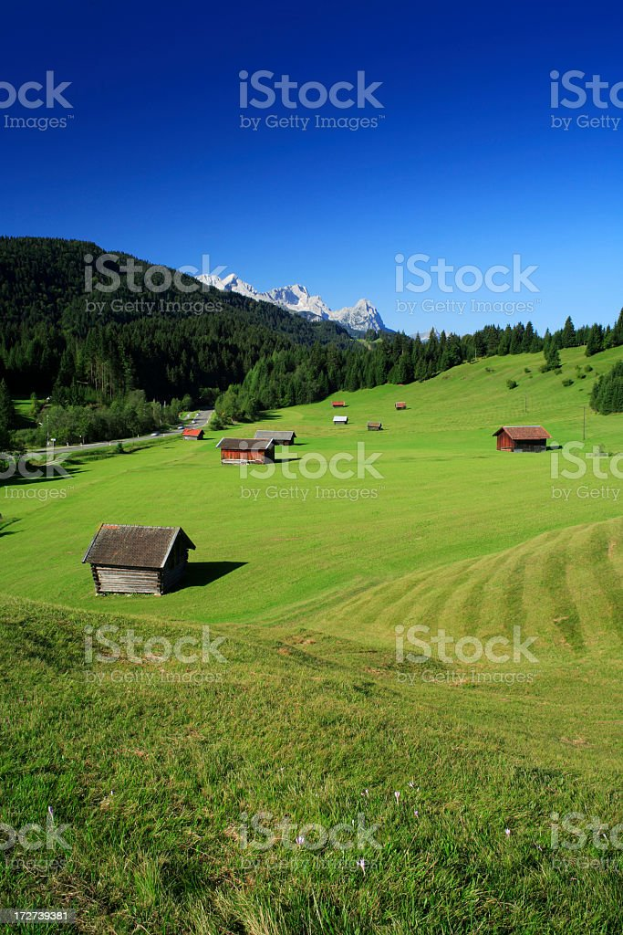 Bavarian Landscape royalty-free stock photo