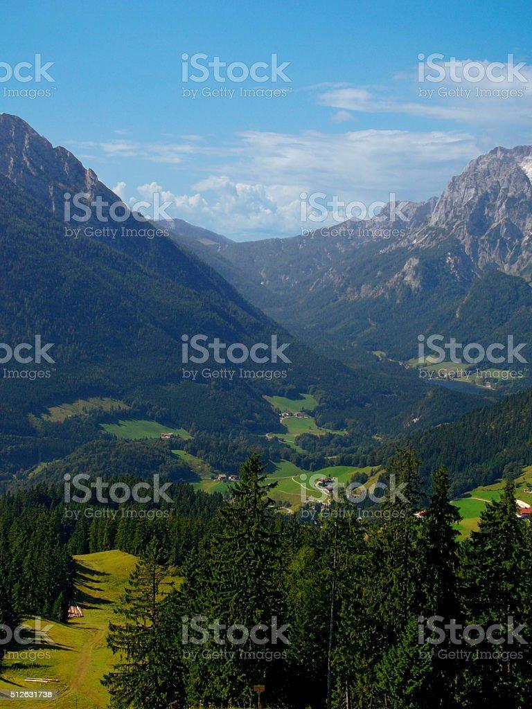 Bavarian Landscape stock photo