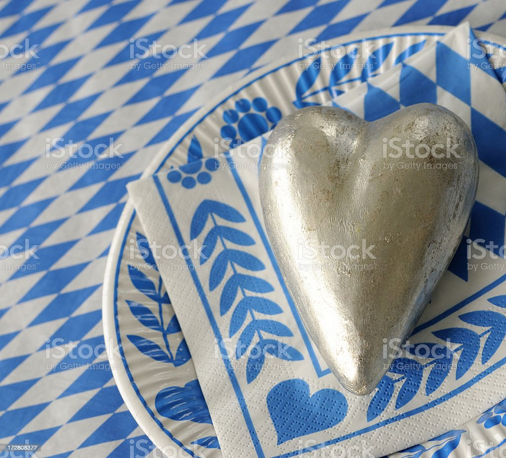 bavarian love royalty-free stock photo