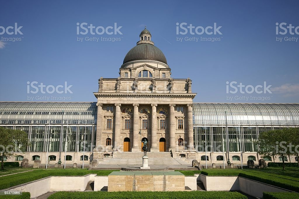 Bavarian Parliament Building stock photo