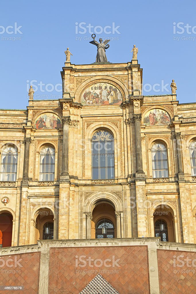 Bavarian Parliament in Munich, Germany stock photo