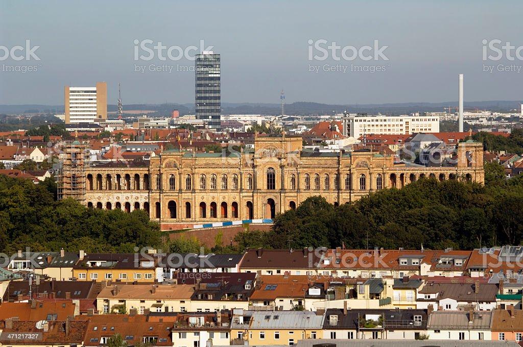 Bavarian Parliament, Munich Germany stock photo