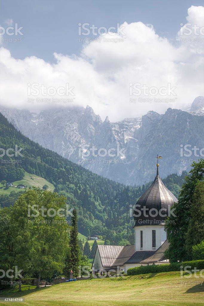 Bavarian Scenic stock photo