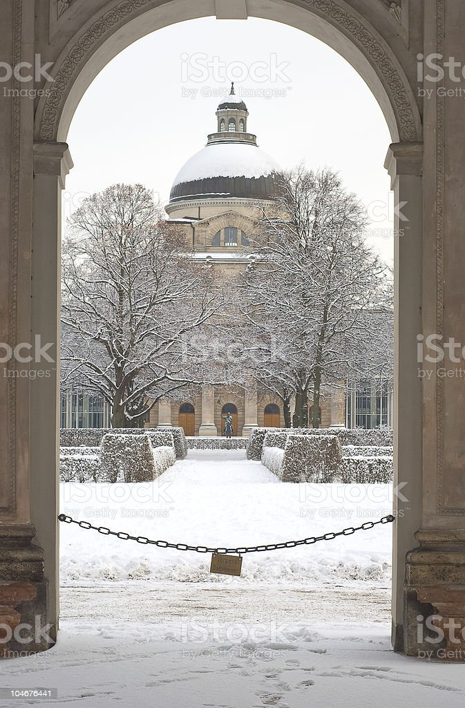 Bavarian State Chancellery royalty-free stock photo