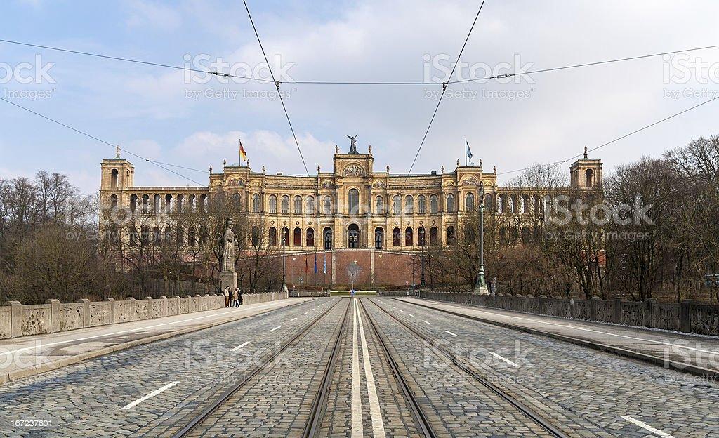 Bavarian State Parliament - Munich, Germany royalty-free stock photo