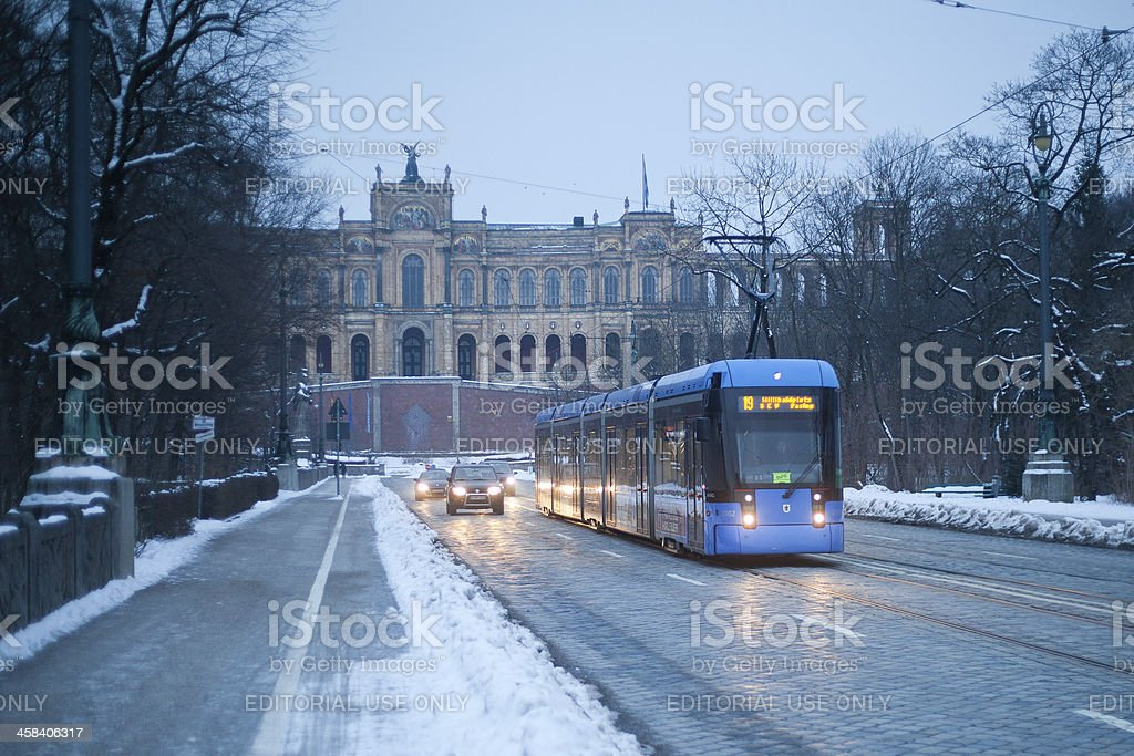 Bavarian State Parliament stock photo