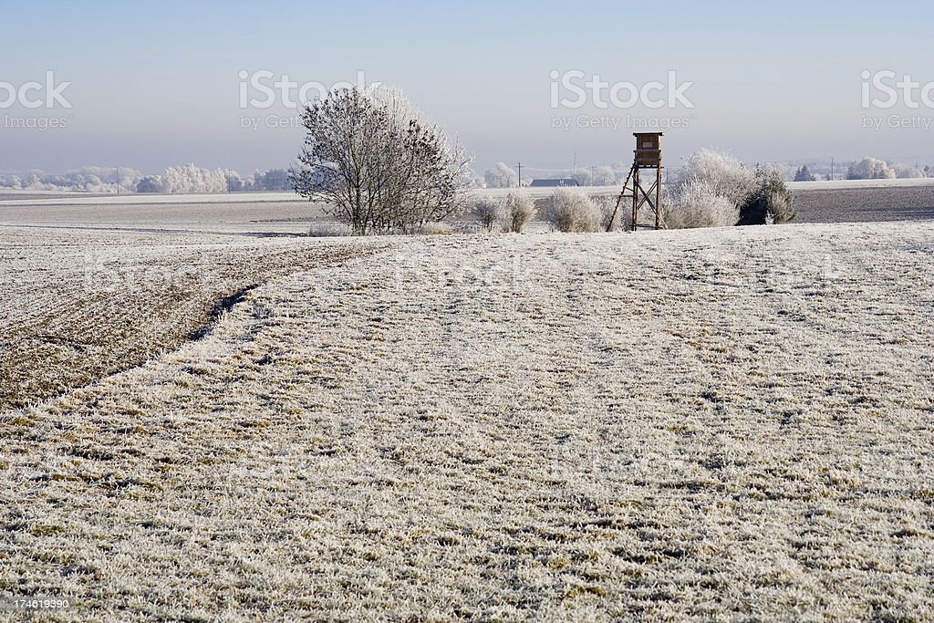 Bavarian Winter royalty-free stock photo