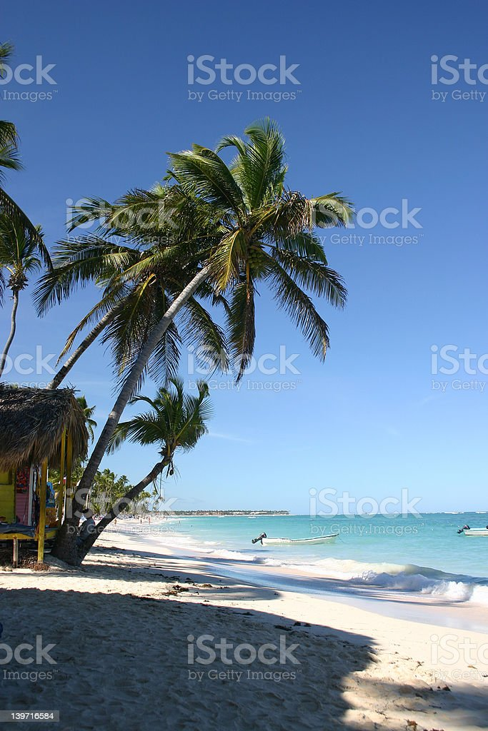 Playa Bavaro royalty-free stock photo