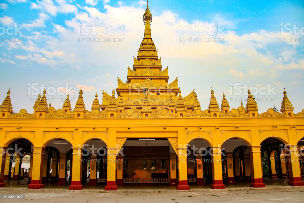 Bawgyo Pagoda, Hsipaw, Myanmar stock photo
