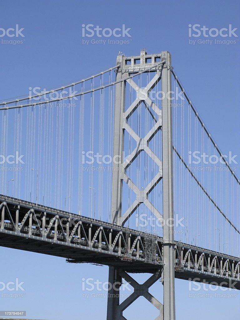 Bay Bridge California stock photo