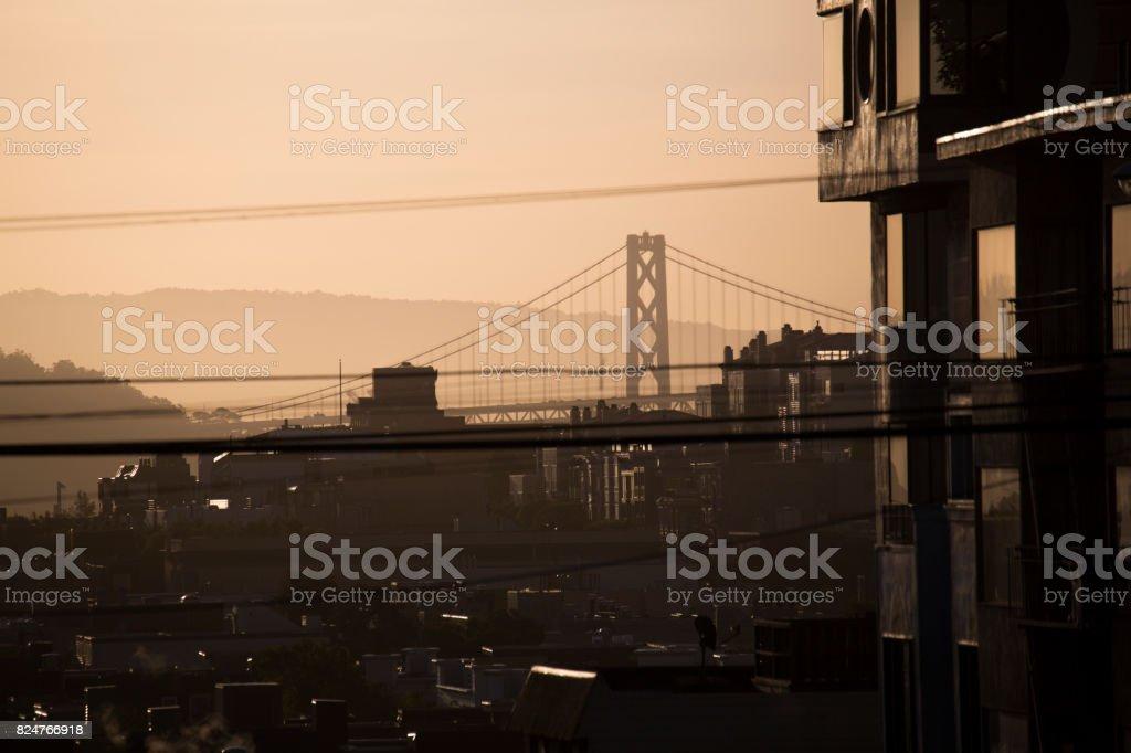 Bay Bridge stock photo