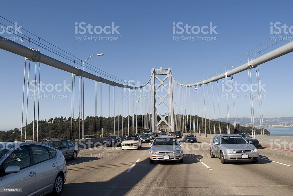 Bay Bridge royalty-free stock photo