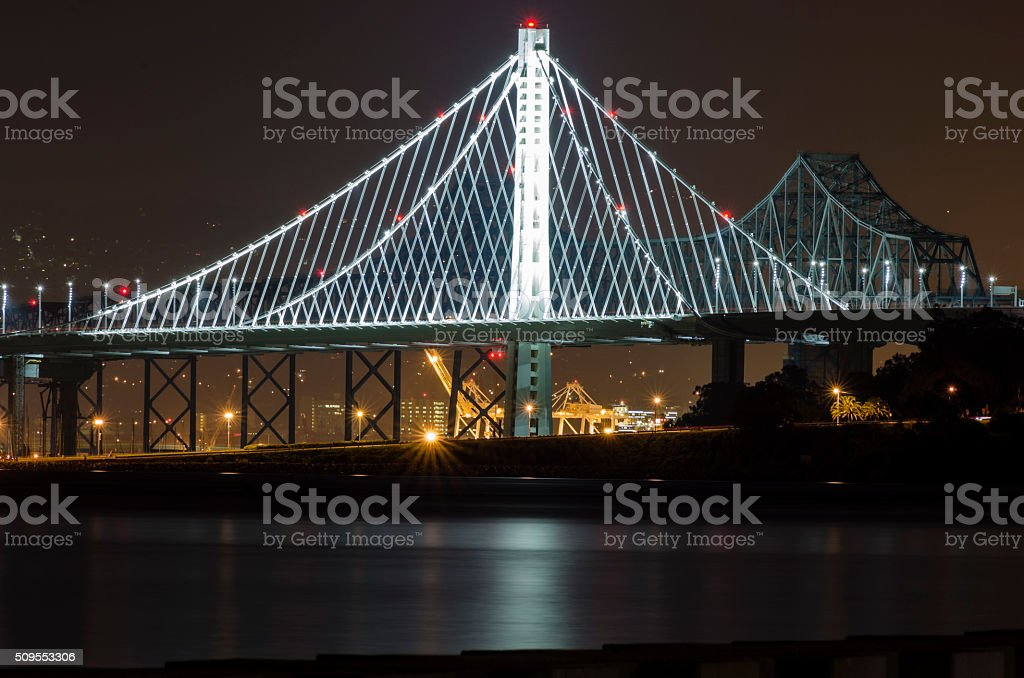Bay Bridge, San Francisco, California stock photo