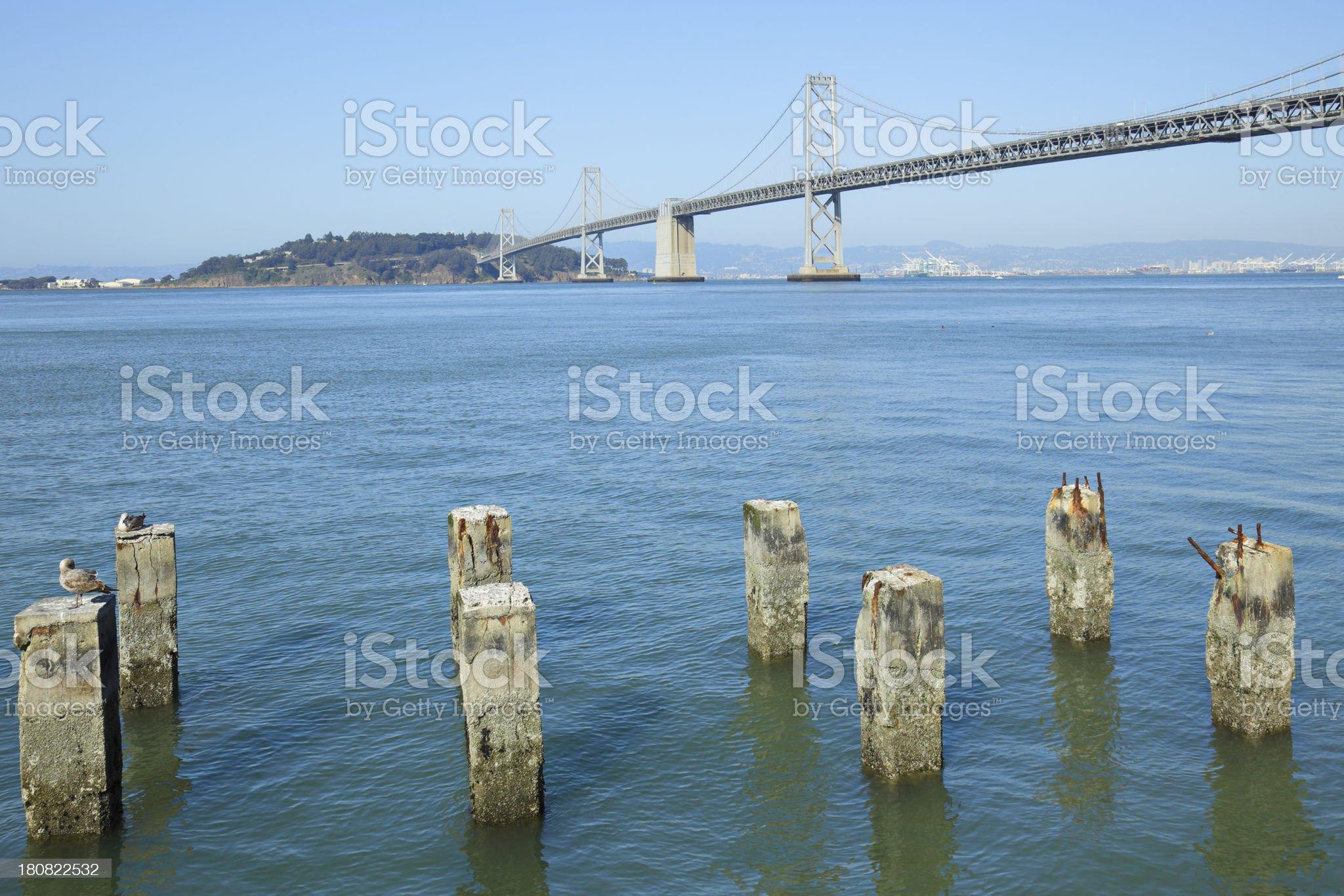 Bay Bridge - San Francisco royalty-free stock photo