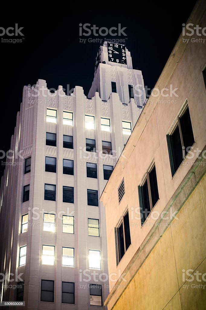 Bay Cities Guaranty Building, Downtown Santa Monica stock photo