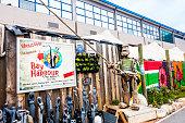 Bay Harbour market entrance in Hout Bay