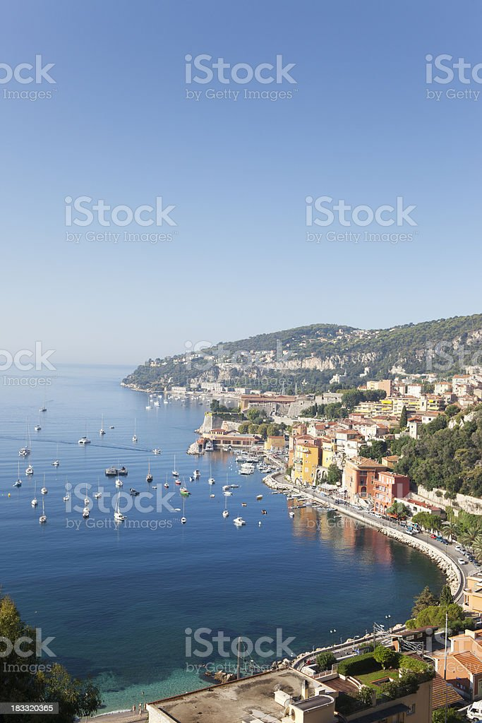 Bay in France royalty-free stock photo